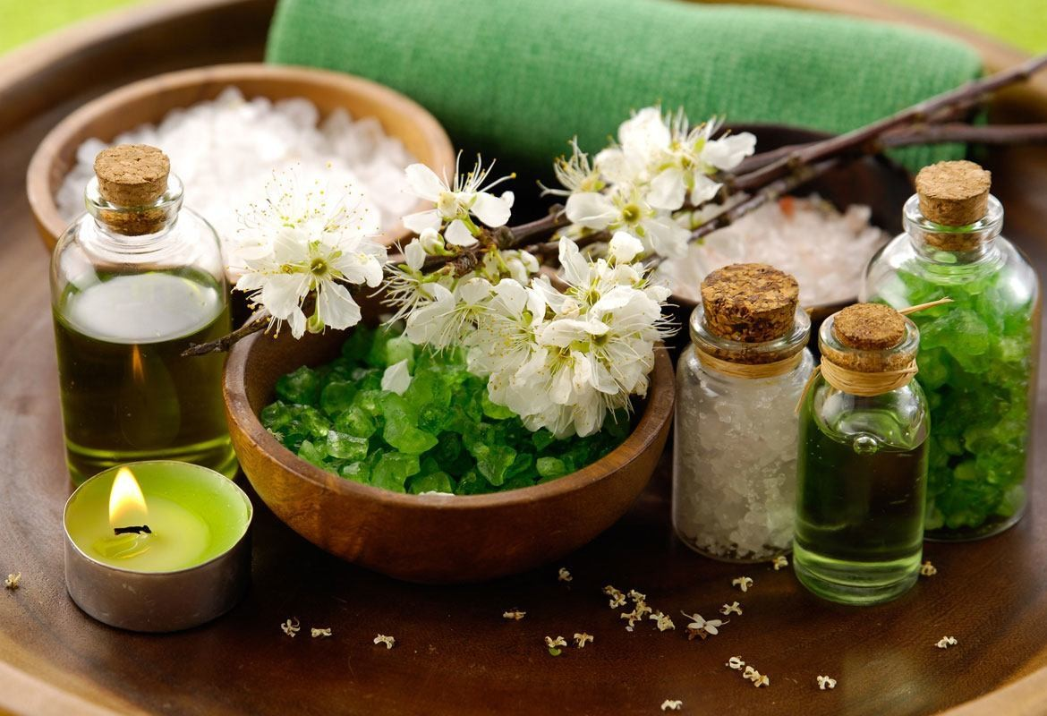 Spa Green Salt