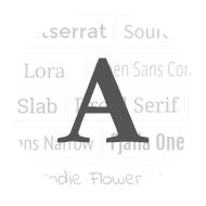 Full Typography Control